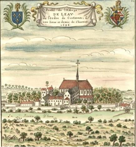 eglises abbaye de leau - Vèr-lès-Chartres