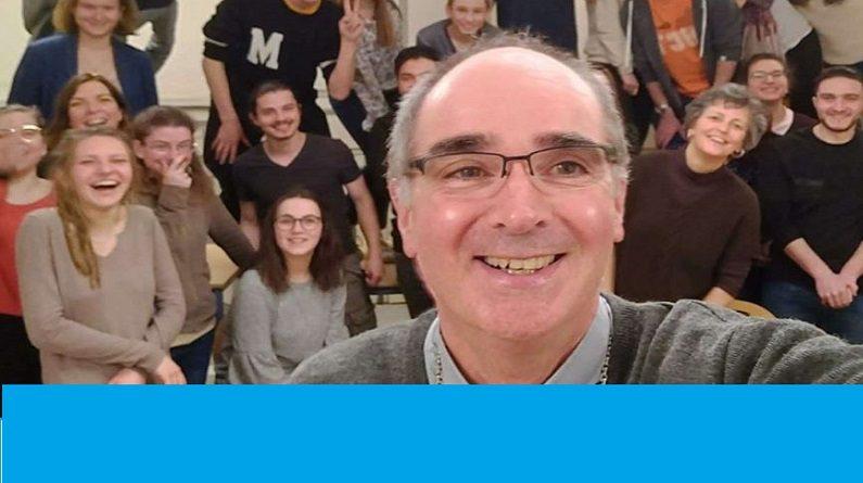 """percerou 795x445 - """"Demain, les jeunes et l'Eglise"""" avec Laurent Percerou, Evêque de Moulins - vendredi 12 avril à la Visitation"""