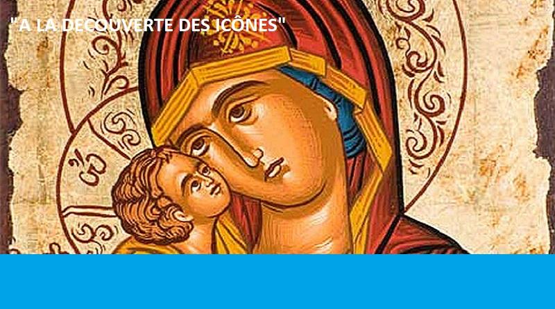 icone religieuse mere de dieu de la tendresse manteau rouge - Jeudi 9 Mai de 14h à 17h - Formation à la Visitation