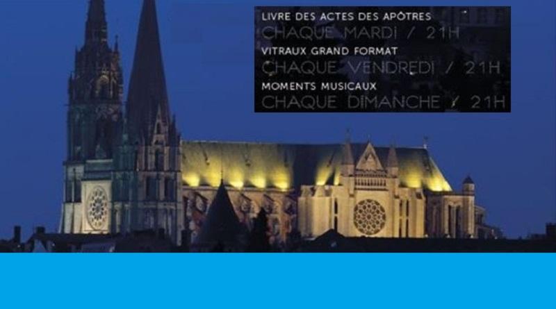 Cathedrale - Du 18 Juin au 31 Août à la cathédrale de Chartres