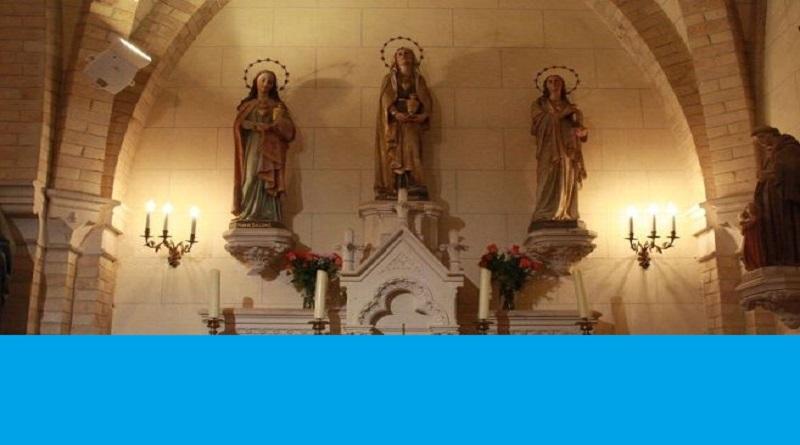 les 3 marie 1 - Pélerinage des trois Marie - 22 juillet à Mignières