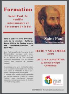 saint paul 220x300 - Découvrez Saint Paul avec Catherine Manne, 7 novembre