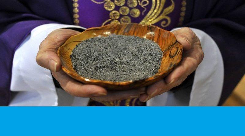 Mercredi des Cendres le 26 février (jour de jeûne et d'abstinence)