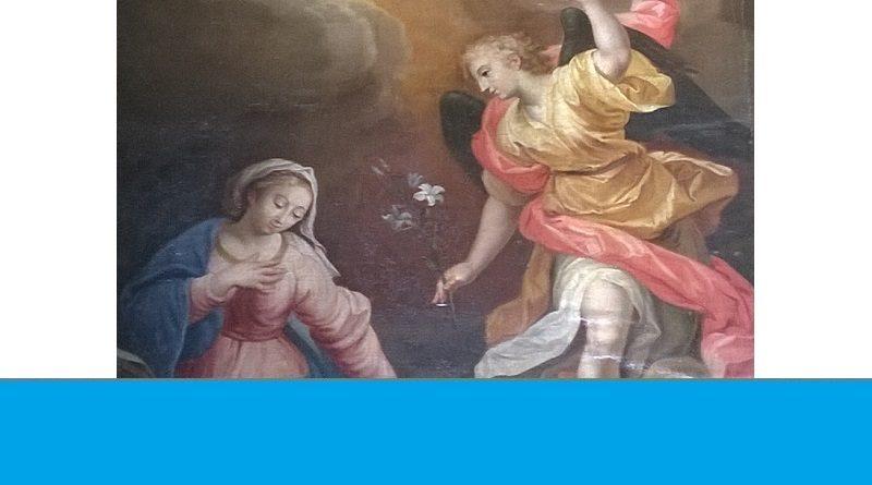 annonciation 800x445 - Annonciation / Jubilée du père Wilner