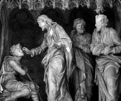 aveugle né cathédrale de Chartres - Sermon du père Hugues de Tilly pour le 4ème dimanche de carême