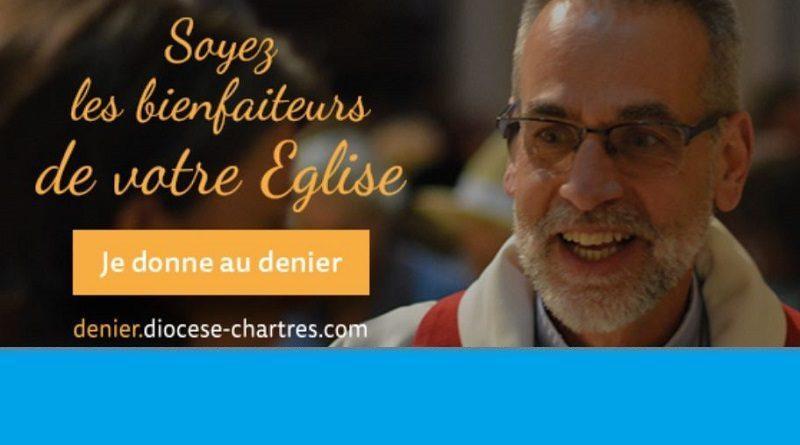 DENIER 800x445 - Si l'Église peut tant vous donner, C'est aussi grâce au denier.  Je donne à l'Église catholique en Eure & Loir