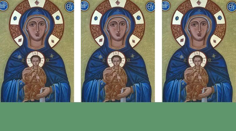 Icône Notre Dame de la Trinité 800x445 - Homélie du père Hugues de Tilly pour le 4ème dimanche de Pâques - Dimanche du Bon Pasteur