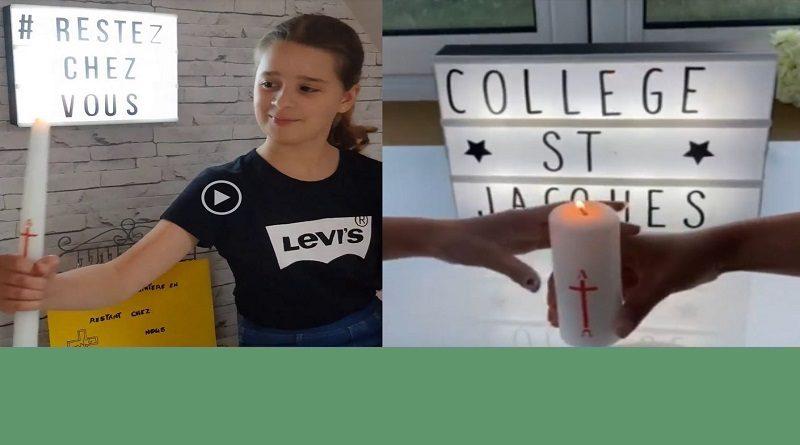 Vidéos des jeunes du KT de la paroisse et du collège de Mignières – Défi «Partageons la lumière»