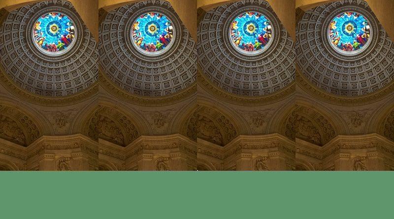 Venue de lEsprit Saint Dôme chapelle royale de Dreux modifié  800x445 - Homélie du père Hugues de Tilly pour le 6ème dimanche de Pâques et annonces - 17/05