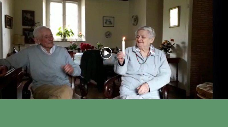 vidéo merveilleuse Lumère 800x445 - la Lumière continue de passer dans la paroisse - Merveilleuse lumière qui éclaire Marie