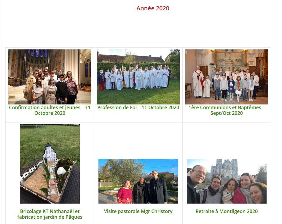 photos 2020 - Les dernières photos des évènements de la paroisse