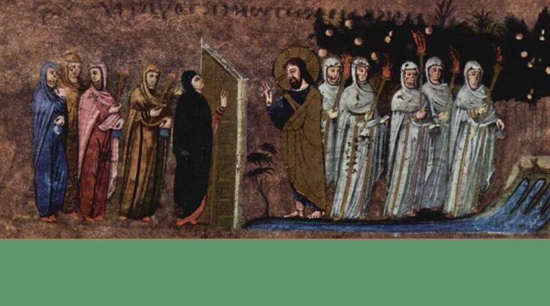 parabole des dix jeunes filles 800x445 - Petite homélie du père Joseph Koeta - dimanche 8 novembre 2020