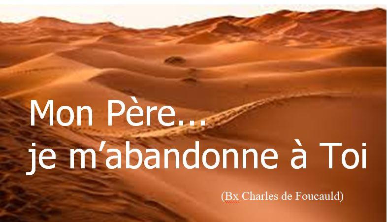 je mabandonne - Prière et Louange - Vendredi 19 Février de 20H30 à 21H15 chez vous avec ZOOM
