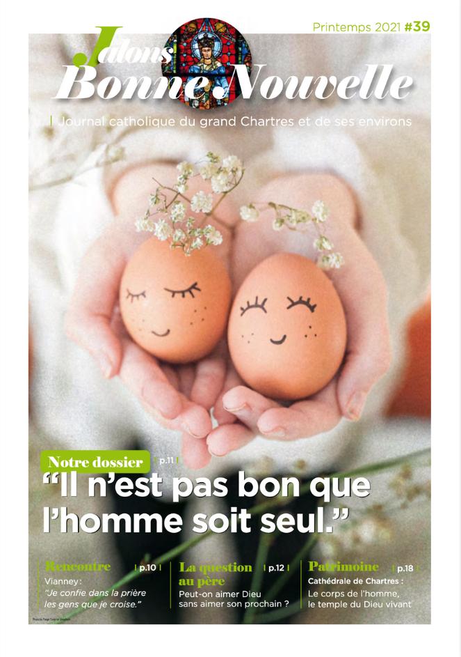"""couverture jalons 0321 - Magazine Catholique Jalons """"Printemps 2021"""""""