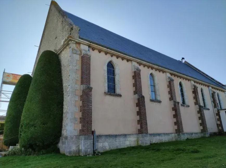 toiture le coudray - Appel aux dons pour financer les travaux de toitures de l'église du Coudray