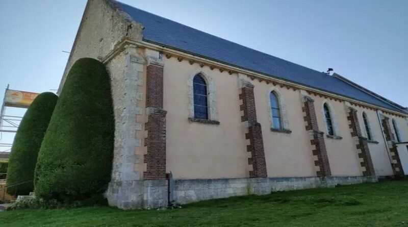 Appel aux dons pour financer les travaux de toitures de l'église du Coudray
